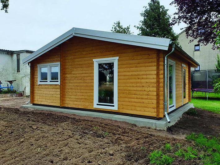 Gartenhaus mit Satteldach