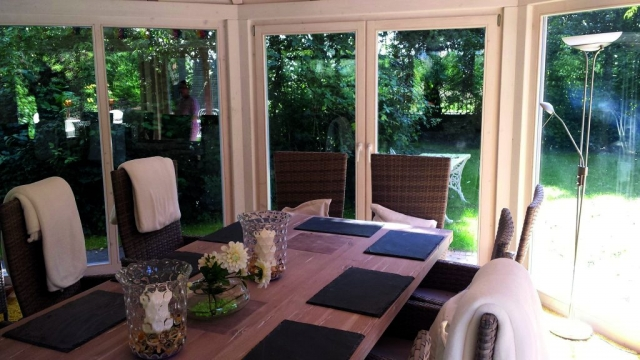 Garten-Pavillion, 6-eckiges Gartenhaus