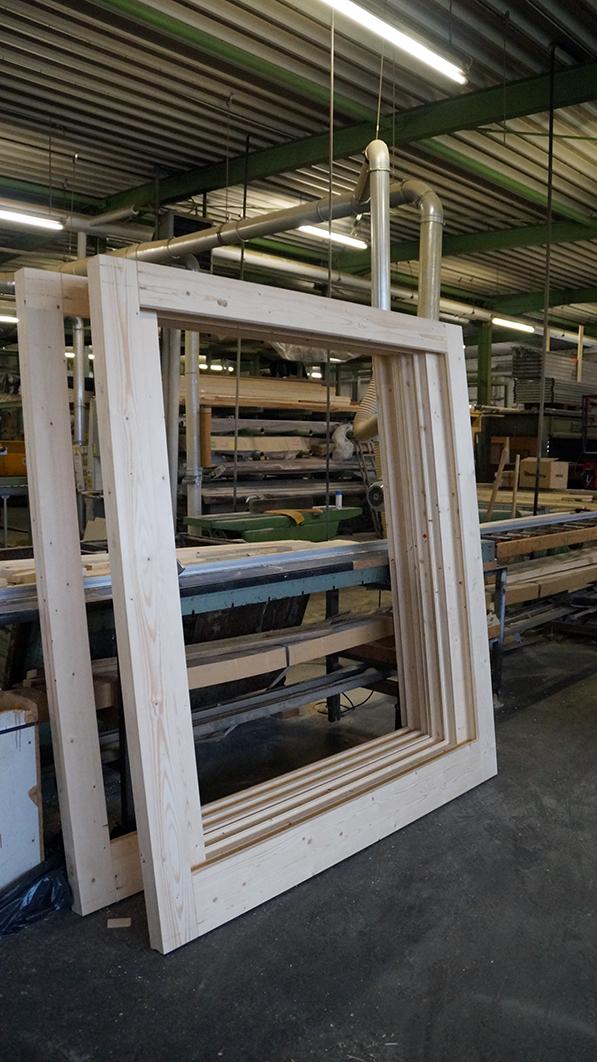 Holz, Schiebe-Element